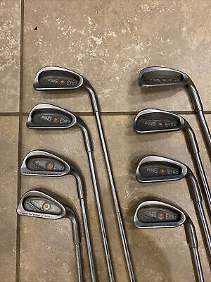AU230.37 • Buy PING Eye 2 Iron Set Golf Club Orange Dot 3-W 7-iron 38""