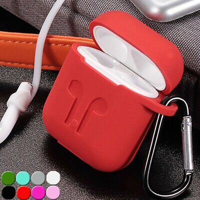 $ CDN8.32 • Buy For Apple AirPods 1st / 2nd Silicone Case Slim Full Body Protective Skin Cover