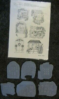 £6 • Buy Joanna Sheen-Mounted Rubber Stamp Set-Country Home-Card Making-Crafting