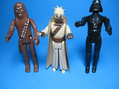 $ CDN23.97 • Buy  Vintage LOT STAR WARS 1977 3 Figures Lot Darth Vader, Sand People & Chewbacca