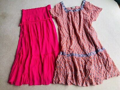 AU8.96 • Buy Two Lovely Sun Dresses/cover Up/Kaftan, Size 18, By East. Never Worn.