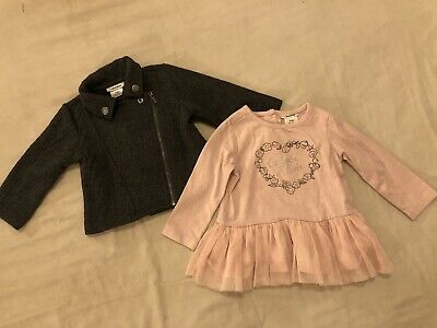 Baby Girl Calvin Klein Tutu Dress And Jacket Age 6-9months • 10£