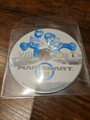 Mario Kart For Nintendo Wii *Disc Only* With Plain Disc Sleeve • 17.95£