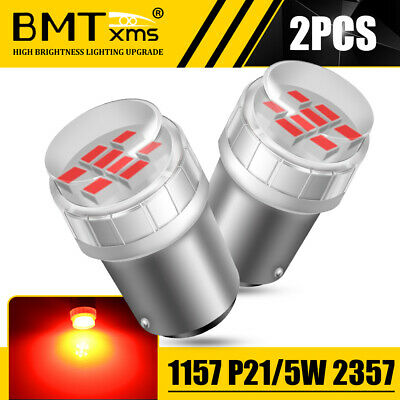 $11.56 • Buy Red LED Brake Tail Stop Lights 1157 7528 P21/5W Bulbs Lamps For Hyundai Accent