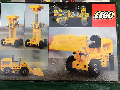 VINTAGE LEGO TECHNIC FORK LIFT SET 850 WITH BOX & MANUAL FROM 1980 Boys Toys • 17.20£