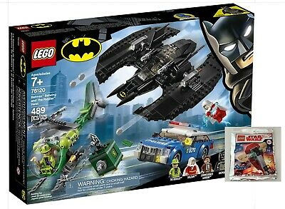 AU97 • Buy LEGO Batman Batwing & The Riddler Heist 76120 Brand New And Sealed With Gift