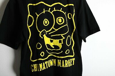 $ CDN44.19 • Buy Chinatown Market Spongebob Squarepants T Shirt Size Large Supreme Hype Bootleg