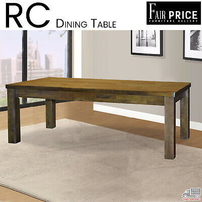 AU599 • Buy New RC Dining Tables 6 And 8 Seater Rubberwood Veneer Kitchen Cafe Restaurant