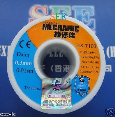 $3.58 • Buy 0.3mm Solder Wire MCNSNPB6337/2N5-SP The Finest Quality Solder Sn:63% Pb:37%