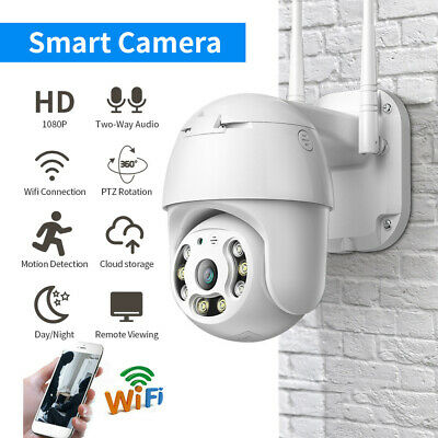 WiFi 1080P IP66 PTZ Dome Security Camera Outdoor Wireless Speed Zoom HD Cam 2.5 • 32.50£