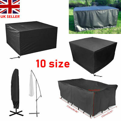 Outdoor Furniture Cover Garden Cube Waterproof Patio Rattan Table Heavy Duty Set • 12.52£