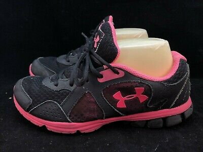$ CDN12.63 • Buy Under Armour  Womens Running Shoes Size 8 Black Pink