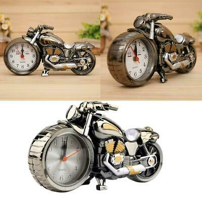 Motorcycle Alarm Clock Cool Unusual Gadget Xmas Gift Present Birthday A0G9 • 3.95£