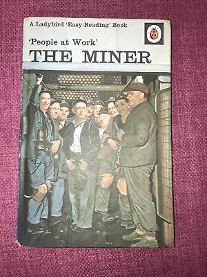 Ladybird Book People At Work - The Miner Series 606B 24p • 1.99£
