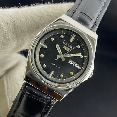 $ CDN1.25 • Buy Vintage Seiko 5 Automatic 17 Jewels Cal.6309A Day Date Men's Wrist Watch