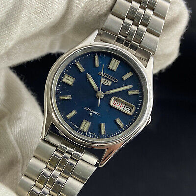 $ CDN4.10 • Buy Vintage Seiko 5 Automatic 17 Jewels Cal.6309A Day Date Men's Wrist Watch