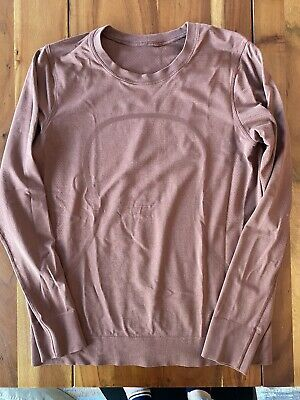 $ CDN36.79 • Buy Lululemon Swiftly Breeze Long Sleeves Top Shirt Relaxed Fit 8 Ancient Copper EUC