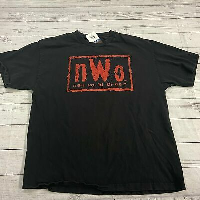 $ CDN17.54 • Buy WWE NWO Wrestling Short Sleeve Black T Shirt Men Size XL