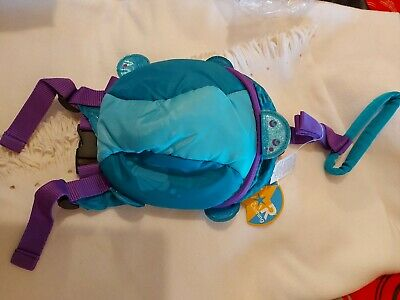 TODDLER BACKPACK WITH REINS Handle Girls Sea Turtle Infants STAR  • 9.50£