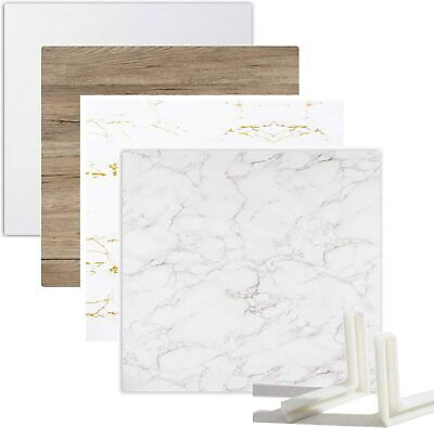 Photography 2PC Background Backdrop Board For Jewelry Cosmetics Product Props UK • 34£