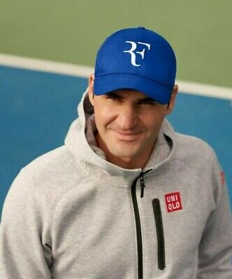 Roger Federer RF Logo Official Uniqlo Tennis Cap Hat - Wimbledon - BNWT SOLD OUT • 75£