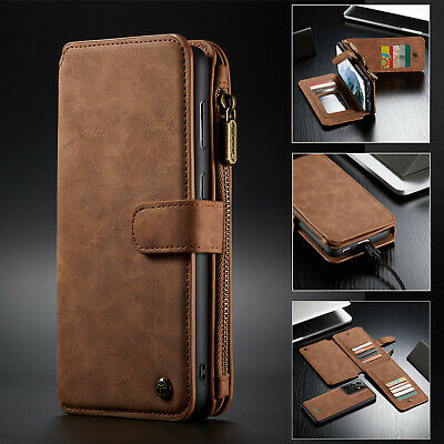 $ CDN22.76 • Buy For Samsung S21 Ultra S20 Plus Note 20 S10 S9 Plus S8 Leather Wallet  Case Cover
