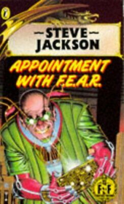 AU33.41 • Buy APPOINTMENT WITH F.E.A.R. (PUFFIN BOOKS) By Steve Jackson **Mint Condition**