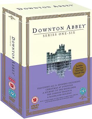 Downton Abbey - The Complete Series 1 - 6 (23 Disc Dvd Set) New Sealed. • 22.95£