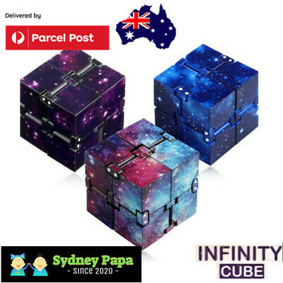 AU7.95 • Buy Infinity Cube Fidget Toys Magic Puzzle Sensory Autism Anxiety ADHD Stress Relief