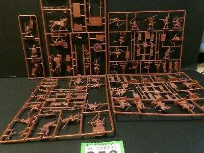 40 1/72 Samurai Army Infantry Soldiers + Chariot 4 Boxer Wars China Civil Wars • 9.99£