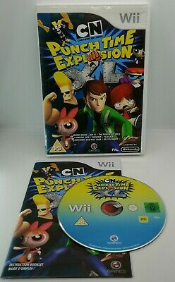 £5.99 • Buy Cartoon Network: Punch Time Explosion XL Video Game For Nintendo Wii PAL TESTED