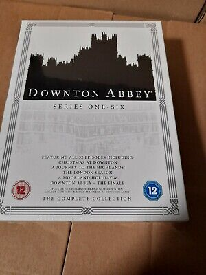 Downton Abbey - The Complete Collection (26 Disc Dvd Box Set) New Sealed • 24.75£