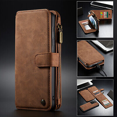$ CDN6.29 • Buy For Samsung S21 Ultra S20 Plus Note 20 S10 S9 Plus S8 Leather Wallet  Case Cover