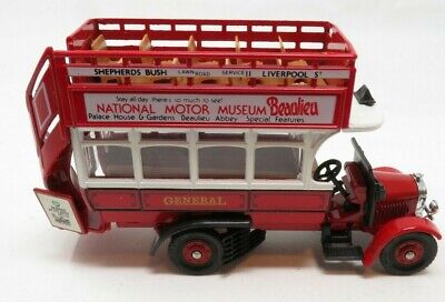 $ CDN22.58 • Buy Corgi 0046 DIE CAST-1920s Thornycroft Double Decker Bus NIB