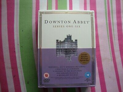 Downton Abbey The Complete Series 1-6 Boxset New/Sealed Trusted Seller.. • 25.95£