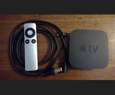 AU45.67 • Buy Apple TV 3rd Gen (A1469) With Remote And Power Cord
