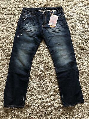 King Krash By Donwan Harrell PRPSJeans Premium Dark Blue Denim Japanese W38 NEW • 7.50£