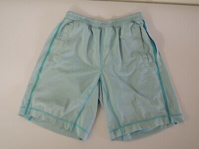 $ CDN44.40 • Buy Lululemon PACE BREAKER SHORTS 9-Inch Inseam With Liner Blue Check Size MEDIUM