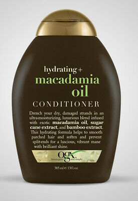 £7 • Buy Ogx Macadamia Oil Conditioner Hydrating For Dry Hair With Bamboo Keratin New