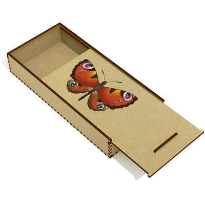 £6.99 • Buy 'Butterfly' Wooden Pencil Case / Slide Top Box (PC00024500)