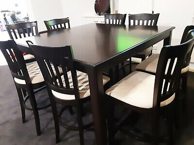 AU500 • Buy Used Furniture Dining Tables And 8 Chairs