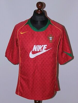 £19.99 • Buy Portugal National Team Home Football Shirt 04/06 Nike Size L With Big Logo