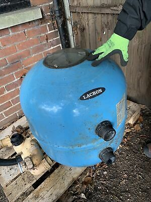 Sand Pool Filter Lacron LSR-24 Used Condition • 10£
