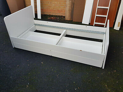 Ikea Slakt Single Bed With Underbed And Two Storage Drawers • 30£