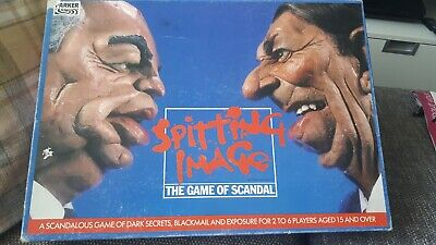 £9.95 • Buy Vintage Parker 1980s Spitting Image The Game Of Scandal 2-6 Players Complete