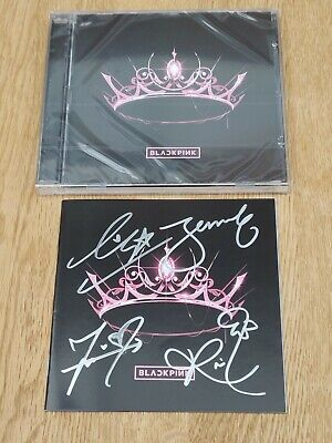 AU178.53 • Buy Blackpink Hand Signed Cd Booklet With The Album Cd Brand New Sealed With