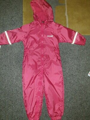 Regatta Kids Waterproof Puddle Suit 18-24 Months • 9£