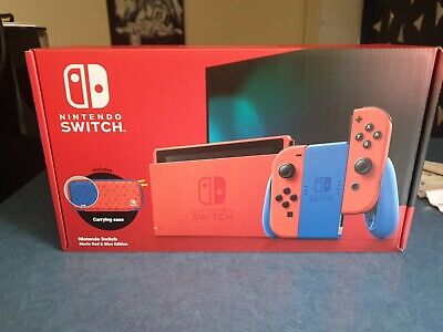 AU203.50 • Buy Nintendo Switch Mario Console NEW