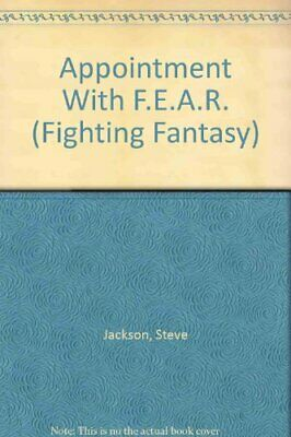 AU34.02 • Buy APPOINTMENT WITH F.E.A.R. By Steve Jackson **Mint Condition**