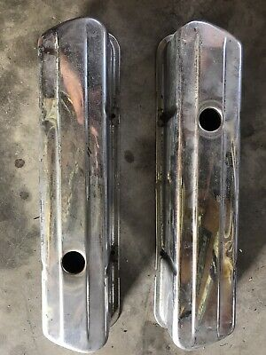 AU40 • Buy Holden 308 253 V8 Chrome Rocker Covers Kingswood Monaro